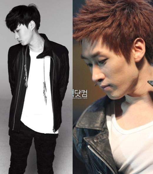 Nếu không nhìn kỹ, rất dễ bị lẫn lộn giữa một bên gương mặt củaEunhyuk (Super Junior)vàTablo.