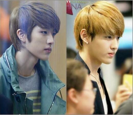 Dù chỉ cùng sinh ra với đôi môi nhỏ nhắn nhưngKrisvàSungyeol (Infinite)lại rất nhiều lần trông giống hệt nhau.