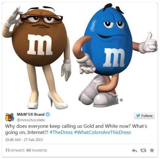 Kẹo M&M: 'Sao ai cũng bảo chúng tôi có màu vàng và trắng? Chuyện gì đang xảy ra với Internet?'
