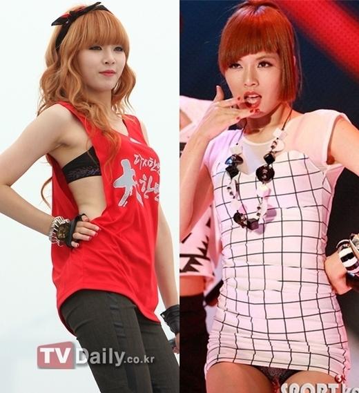 """Theo đuổi phong cách sexy, quyến rũ,Hyunanhiều lần bị chỉ trích do trang phục """"thiếu vải"""" cùng với động tác """"mời gọi"""". Năm 2009, cô nàng từng dính nghi án lộ nội y trên sân khấu. Tuy nhiên, Cube Entertainment đã nhanh chóng đính chính rằng đó là chiếc quần ngắn chứ không phải nội y."""