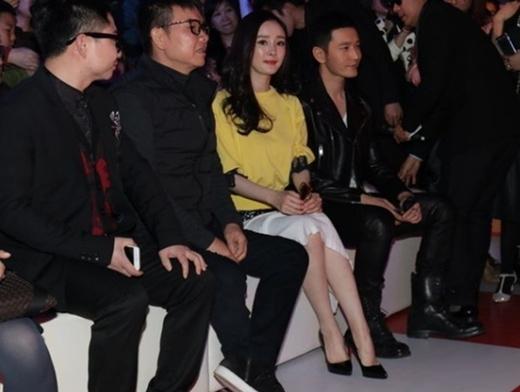 Dương Mịch xuất hiện bên cạnh Huỳnh Hiểu Minh. Cặp đôi hợp tác chung trong Bên nhau trọn đời bản điện ảnh.