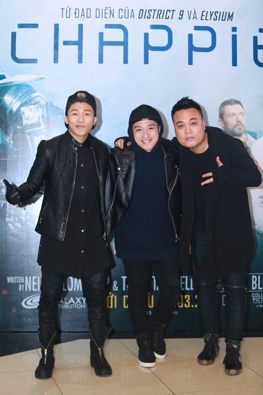 3 cái tên nổi tiếng trong làng nhạc Hip - hop Việt Nam hội ngộ. - Tin sao Viet - Tin tuc sao Viet - Scandal sao Viet - Tin tuc cua Sao - Tin cua Sao