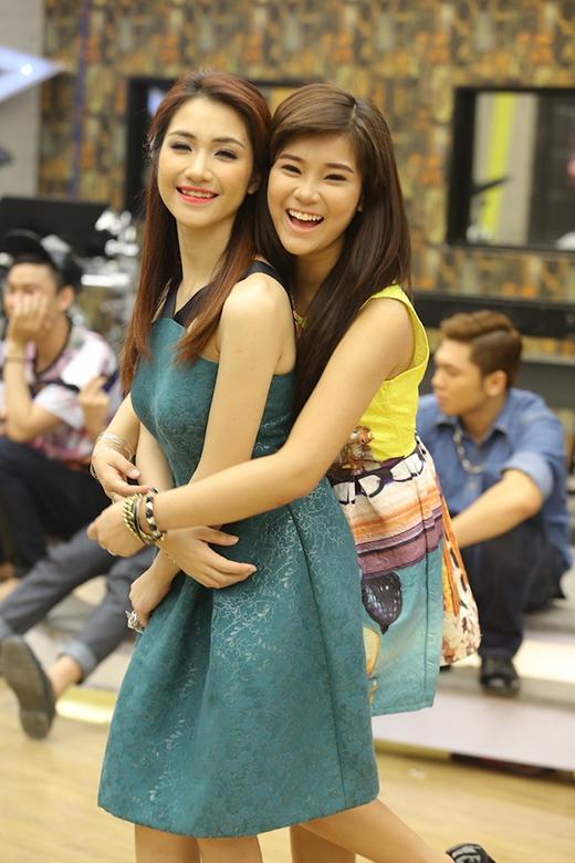 Hòa Minzy và Hoàng Yến Chibi từng là đôi bạn thân thiết trước khi tham gia Học viện ngôi sao.