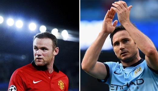 Rooney và Lampard là hai đại diện duy nhất đến từ giải đấu đắt giá nhất hành tinh Premier League