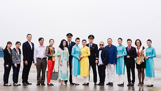 Chuyến bay thử nghiệm với các vị khách mời đặt biệt.