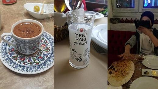 Taecyeon hào hứng hưởng thụ đồ ăn ở Thổ Nhĩ Kỳ.