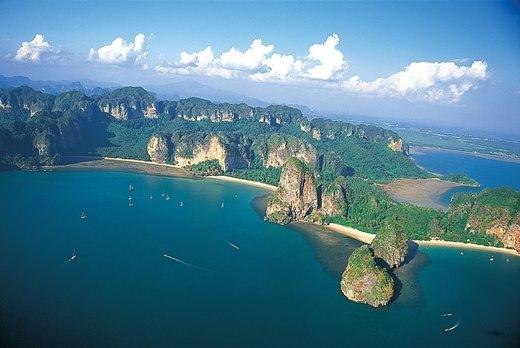 Krabi chinh phục du khách bằng cảnh đẹp như thiên đường.