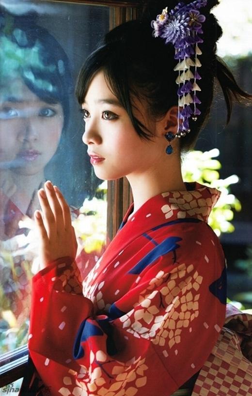 Trang Sina và Tân Hoa Xã của Trung Quốc đồng loạt gọi cô là 'mỹ nữ thiên niên kỷ'với ý nhấn mạnh 1000 năm có 1 của làng giải trí xứ Phù Tang.