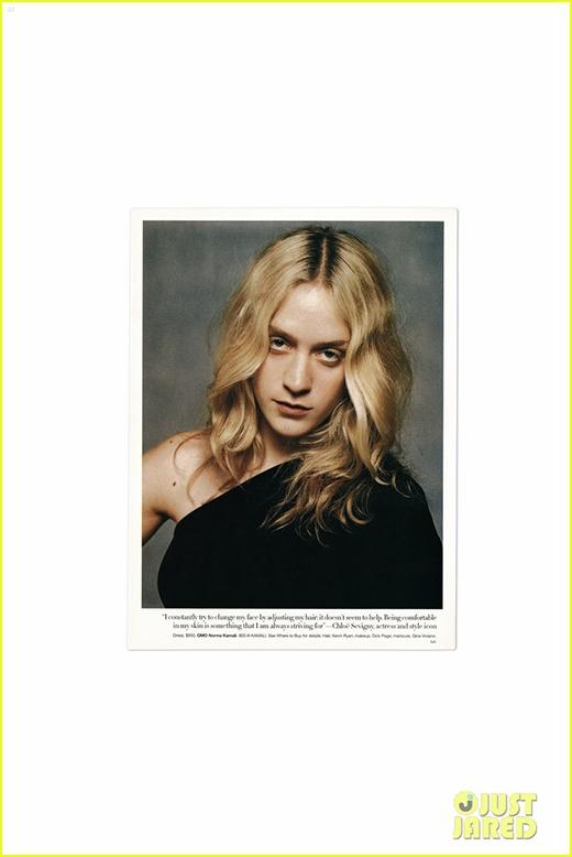 Chloe xuất hiện trong một phần tại ấn phẩm mới nhất của tạp chí V