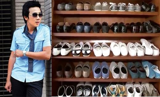 """MC Trấn Thành cũng rất """"đầu tư"""" vào khoản giày dép. - Tin sao Viet - Tin tuc sao Viet - Scandal sao Viet - Tin tuc cua Sao - Tin cua Sao"""