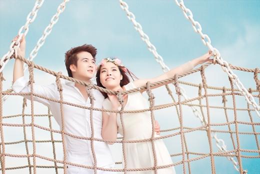 Ảnh cưới của Phi Trường được chụp như một cảnh quay trong MV ca nhạc vậy. - Tin sao Viet - Tin tuc sao Viet - Scandal sao Viet - Tin tuc cua Sao - Tin cua Sao