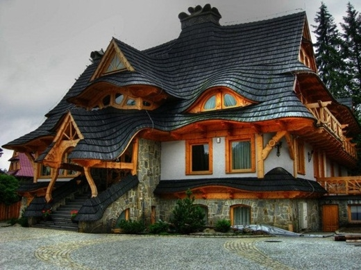 Một căn nhà xinh xắn cứ ngỡ chỉ có trong câu truyện cổ tích.