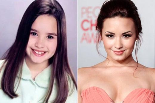 Khó có thể tin được một cô bé trong sáng đáng yêu như Demi Lovato lại thường xuyên bị bạn bè ở trường trêu chọc