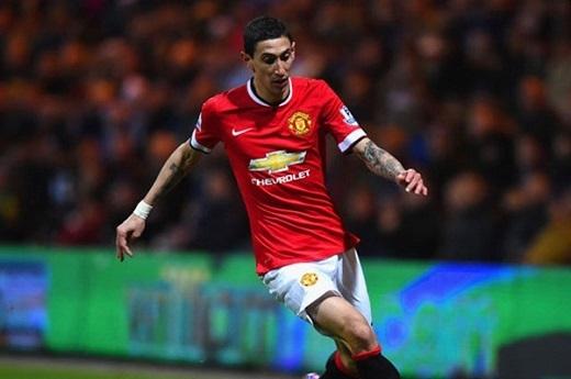 3. Angel Di Maria (Manchester United).