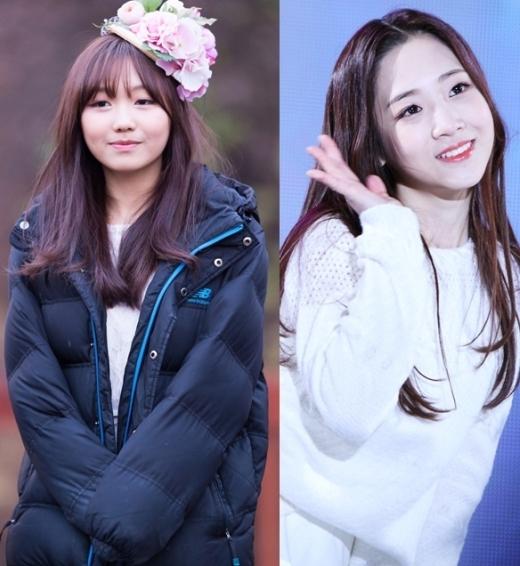"""Lovelyz cũng là một trong những cái tên đáng chú ý thời gian qua. Đặc biệt là Sujeong và Jiae đã """"gom"""" về lượng fan nữ hùng hậu dù chưa ra mắt được bao lâu nhờ vẻ ngoài đáng yêu nổi bật."""