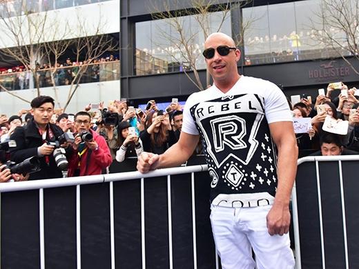 Nam diễn viên Vin Diesel.