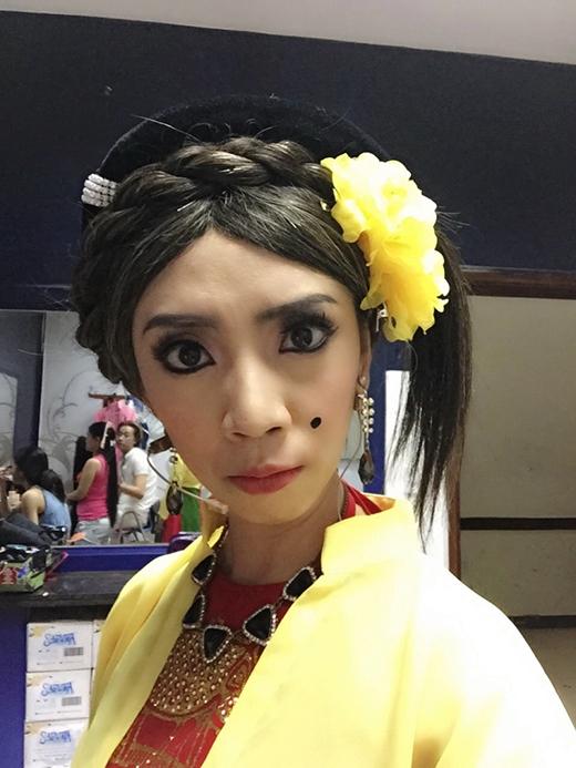 Trong năm 2014, nữ diễn viên đã gây ấn tượng với khán giả qua các vai diễn hài hước trong phim:Để mai tính 2, Tốc độ và đường cong, Trúng số,... - Tin sao Viet - Tin tuc sao Viet - Scandal sao Viet - Tin tuc cua Sao - Tin cua Sao