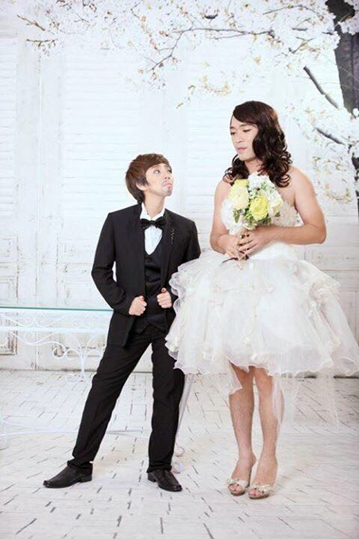 Bộ ảnh cưới có sức 'công phá' mạnh mẽ của Thu Trang và Tiến Luật với người hâm mộ. - Tin sao Viet - Tin tuc sao Viet - Scandal sao Viet - Tin tuc cua Sao - Tin cua Sao
