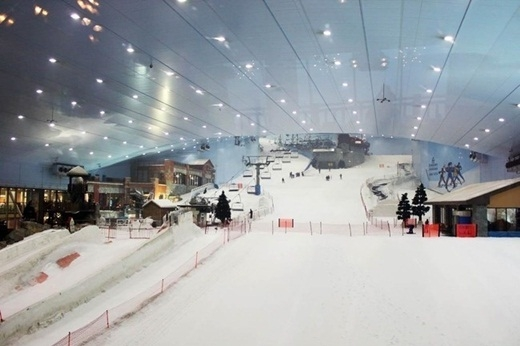 Bạn có thể trượt tuyết ở bất kỳ thời điểm nào trong năm ở Dubai.
