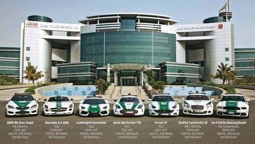 Một số siêu xe khác của cảnh sát.