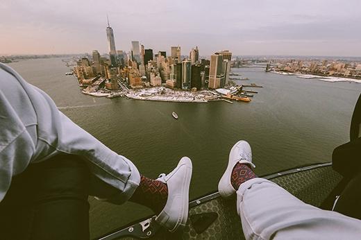 """Trong ảnh là Manhattan – """"trái tim"""" của New York. Manhattan là nơi đặt trụ sở đầu não của Liên Hợp Quốc. Nơi đây còn là trung tâm thương mại, tài chính, văn hóa của Mỹ và cả thế giới."""