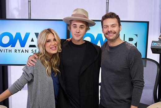 Justin và Ryan trong chương trình Radio vừa qua.