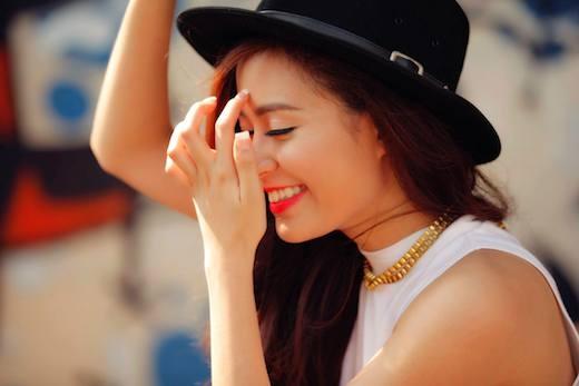 Nụ cười đã tiếp thêm sức sống mới cho Hoàng Thùy Linh. - Tin sao Viet - Tin tuc sao Viet - Scandal sao Viet - Tin tuc cua Sao - Tin cua Sao