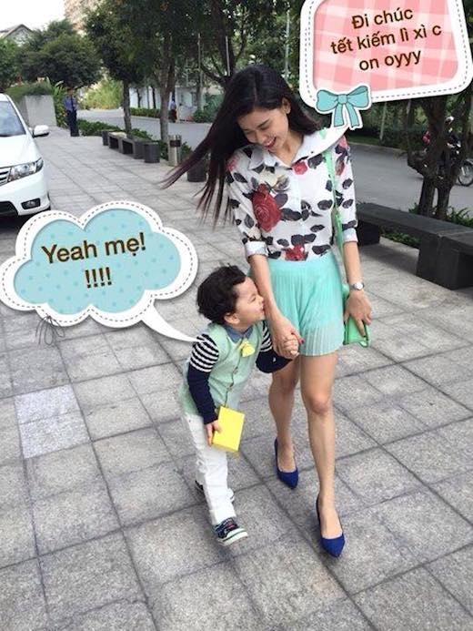 Sành điệu khi dạo phố cùng mẹ Trương Quỳnh Anh. - Tin sao Viet - Tin tuc sao Viet - Scandal sao Viet - Tin tuc cua Sao - Tin cua Sao