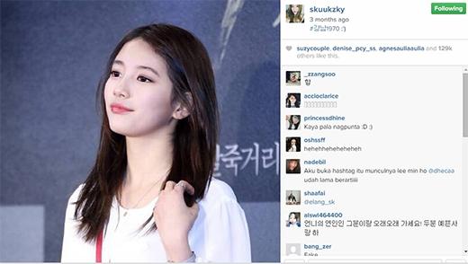 'Tình đầu quốc dân' còn đăng tải hình ảnh lên trang cá nhân mình khi tham gia buổi chiếu VIP ủng hộLee Min Ho.
