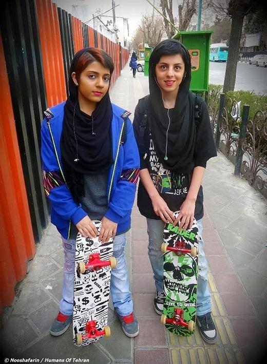 Những cô gái đam mê trượt ván và nhạc rock ở Iran