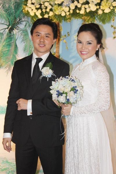 Thu Ngọc trong đám cưới cuối năm 2012. - Tin sao Viet - Tin tuc sao Viet - Scandal sao Viet - Tin tuc cua Sao - Tin cua Sao