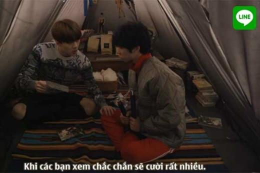 Lần đầu chạm ngõ với phim ảnh nhưng Se Hun đã thể hiện khá tốt vai diễn hài hước và vui nhộn của mình(Link download)