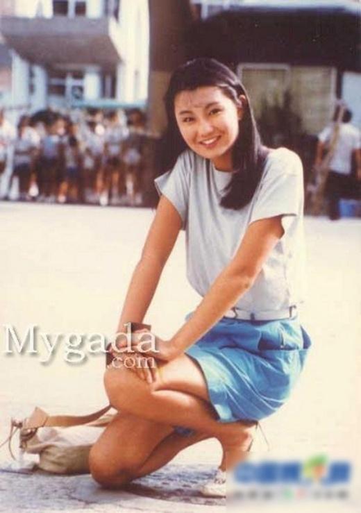 Trương Mạn Ngọc với sự tươi trẻ của thời 17 tuổi.