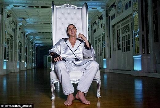 Zlatan Ibrahimovic có tướng làm diễn viên đấy chứ!