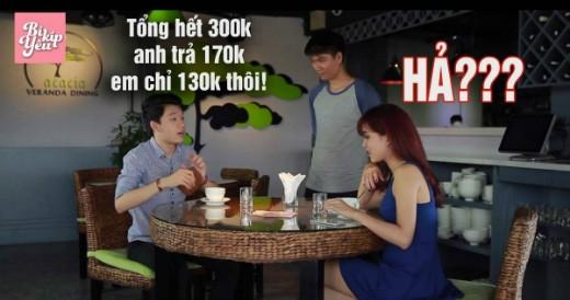"""Cặp đôi Hot girlPhương Titi và diễn viên Quang Trung trong các tình huống """"dở khóc dở cười"""""""