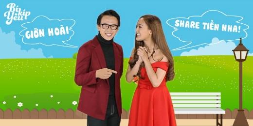VJ Quang Bảo kết hợp cùng với Hot girlKelly Trần trong những số đầu tiên phát sóng