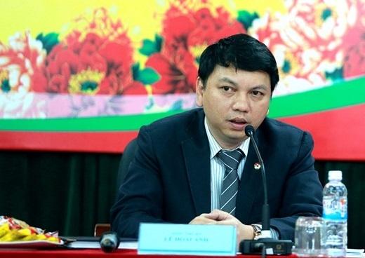 Tổng thư ký VFF Lê Hoài Anh cho biết, VFF và HLV Miura tuyển cầu thủ dự SEA Games 28 theo 2 tiêu chí chính: chuyên môn và kinh nghiệm. Ảnh: Hải Đăng.