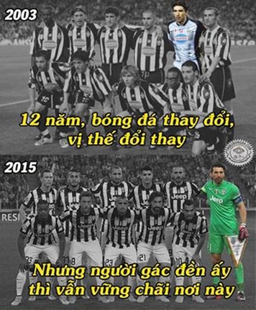 12 năm rồi, Juventus mới lại có vé vào bán kết Champions League.