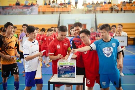 Giải đấu được tài trợ bởi công ty PAN Thailand, SDC, và YAN. Toàn bộ số tiền quyên góp được trong giải đấu sẽ được trao tặng cho mái ấm Hoa Hồng Nhỏ, Quận 7 nhằm giúp đỡ các trẻ em có hoàn cảnh khó khăn, cơ nhỡ.