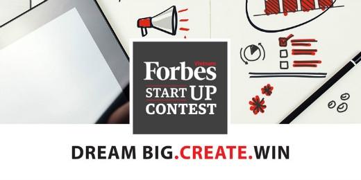 Cuộc thi Start Up do Forbes Việt Nam tổ chức.