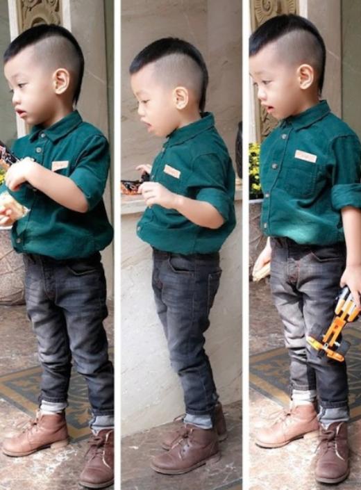 Subeo được mẹ Hà cho 'ăn diện' như một fashionista thứ thiệt. - Tin sao Viet - Tin tuc sao Viet - Scandal sao Viet - Tin tuc cua Sao - Tin cua Sao