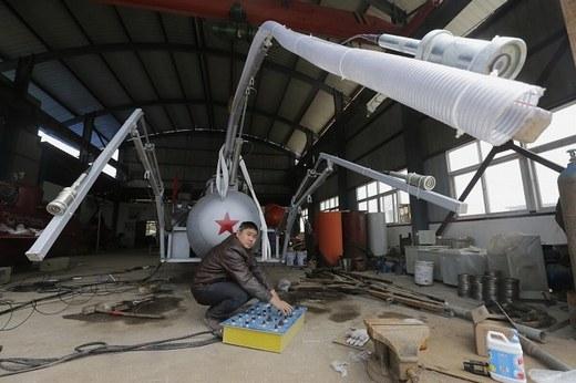 Chiếc tàu ngầm này được tạo ra với mục đích đánh bắt hải sâm.