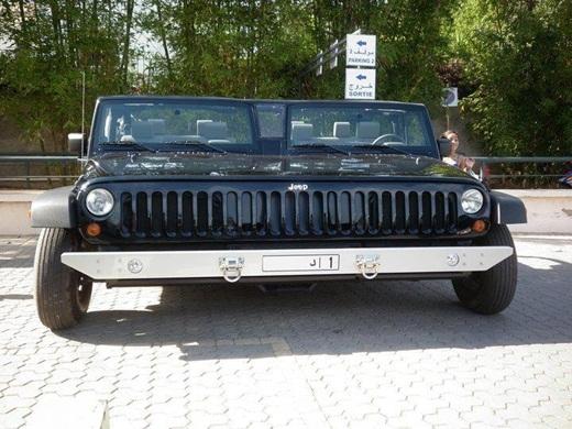 Xe Jeep phiên bản Double chỉ có ở Dubai.