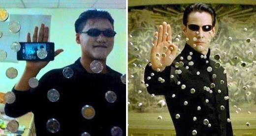 Cách mà bạn biến thành Neo trong Ma trận.