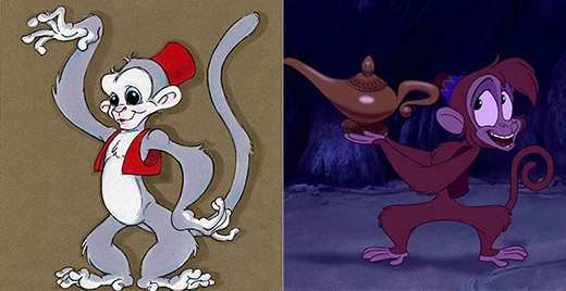 Abu, cánh tay phải đắc lực của Aladdin