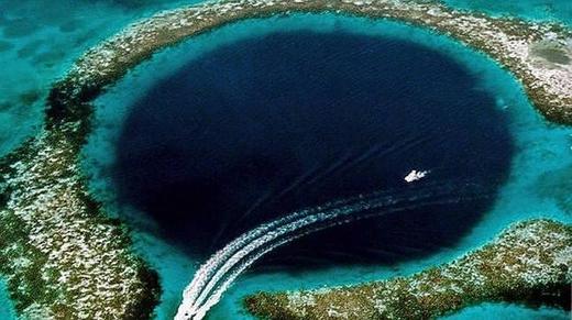 Hồ xanh lớn, Belice