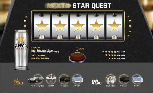 Tham gia chơi Star Quest để có cơ hội trở thành chủ nhân của đêm tiệc S-Party hoành tráng