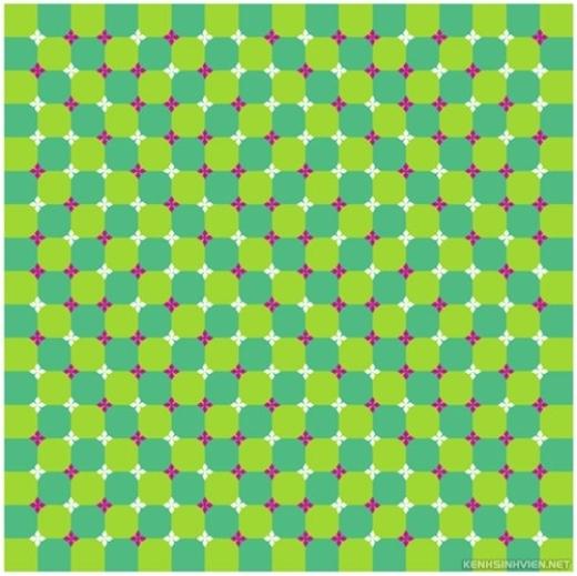 Bạn có nhìn thấy những họa tiết này như 'gợn sóng' không?!