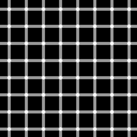 Có lúc màu trắng, có lúc màu đen, những chấm tròn này thật 'rắc rối' quá nhỉ?!