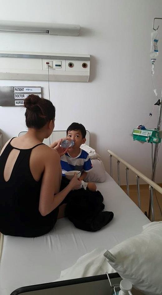 Được biết Subeo bị ốm khá nặng.